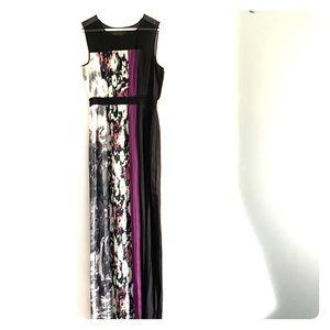 Stunning BCBGMaxAzria floor length dress